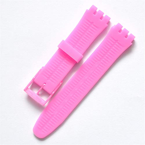 Giles Abbot Replacement watchband Watch Band Strap for Swatch Strap