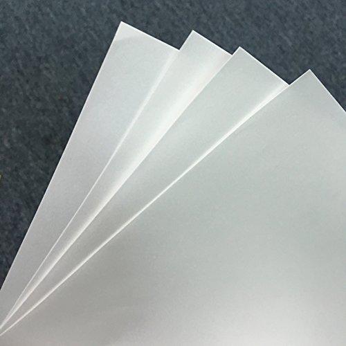 Printer Parts 100 Sheets for Sublimation Machine Heat Transfer Machine T-Shirt Clothes germent Cotton A4 Sublimation Paper Light Color by Yoton (Image #3)