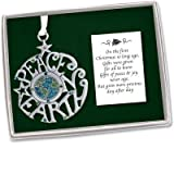 Cathedral Art PO501 Peace on Earth Christmas Ornament, 2-1/2-Inch