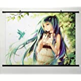 Home Decor Anime VOCALOID Cosplay Wall Scroll Poster Hatsune Miku 23.6 X 17.7 Inches-430