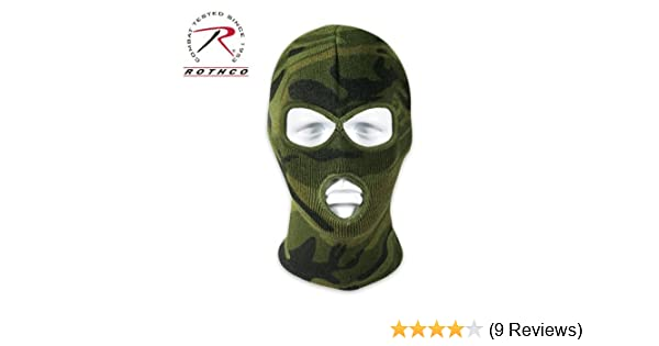 Amazon.com  Rothco Deluxe 3-Hole Face Mask  Sports   Outdoors 8cd08c6aa86