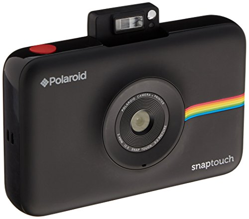 Polaroid Snap Touch Instant Print Digital Camera With LCD Display (Black) with Zink Zero Ink Printing Technology