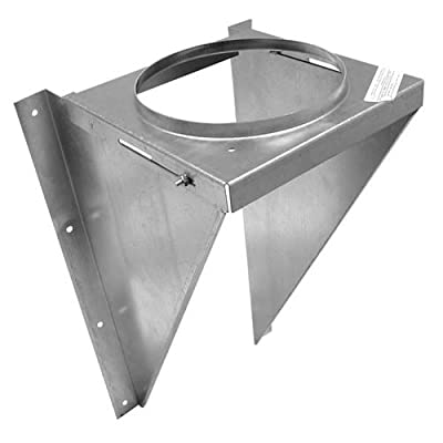 """Metalbest 6T-WSK Sure-Temp 6"""" Class A Chimney Pipe Wall Support Kit,"""