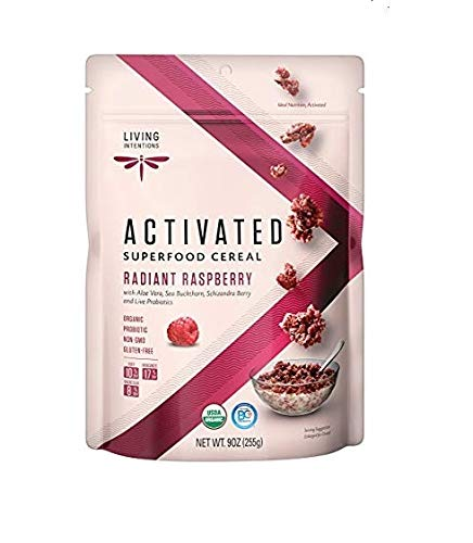 Living Intentions Cereal Radiant Raspberry Superfood, 9 Ounce by Living Intentions
