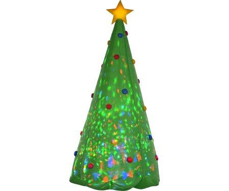Gemmy 89776 Green Tree Christmas Inflatable, 8 FEET TALL (Trees Gemmy Christmas)