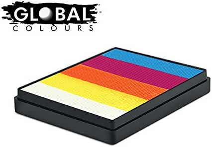 Global Body Art Face Paint - Rainbow Cake Maui 50gr