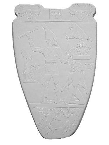 Palette H. of plaster L-659 Narmer King