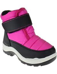 Scarlette 54F Little Kids Snow Pattern Side Flat Boots