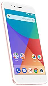 "Xiaomi MI A1 (64GB, 4GB RAM) with Android One & Dual Cameras, 5.5"" Dual SIM Unlocked, Global Version, No Warranty (Rose Gold)"