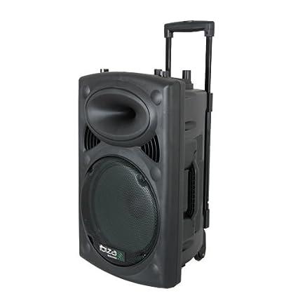 Ibiza Sound PORT8UHF-BT - Megafonía portátil, 8 pulgadas, color ...