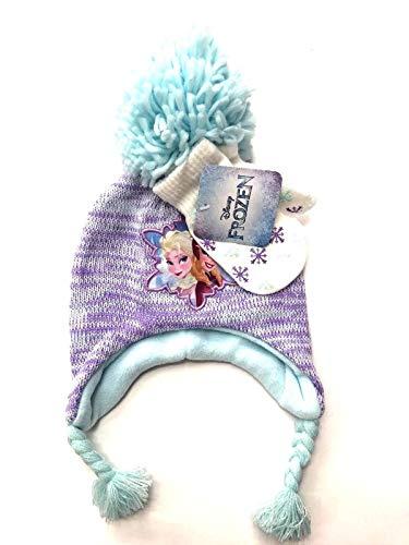 Disney Frozen Elsa Anna Toddler Beanie Hat and Mittens - Elsa Hat