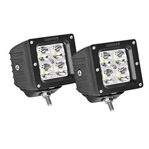 Jeelight LED Cube Lights, 3.2 Inch LED 20W Fog Lights LED Off Roading Light Pods Daytime Driving Lights Night Driving Lights Spot Lights Super Bright With Mounting Bracket 2PC