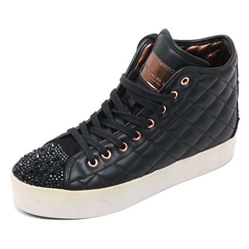 Smith Scarpa Sneaker Shoe Woman Alexander London Nero Donna B6686 Alta Yqpqwd6xU