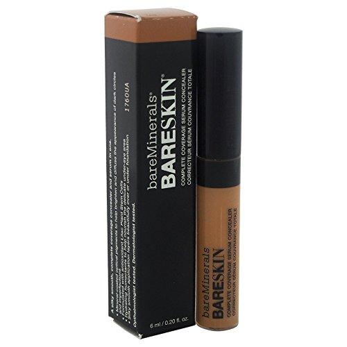 bareMinerals Bareskin Complete Coverage Serum Tan Concealer for Women, 0.2 Ounce