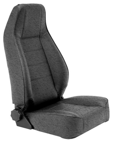 Smittybilt 45015 Denim Black Factory Style Replacement Front Seat