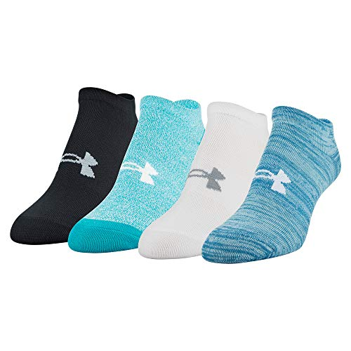 Under Armour Womens Essential No Show Socks 4 Pairs – DiZiSports Store