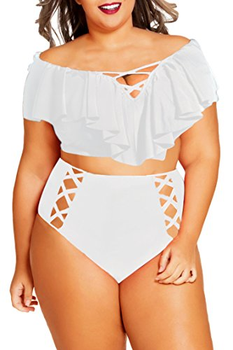 Cheap White Bathing Suit Top in Australia - 4