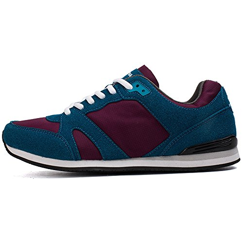 Laces Blue Unisex Red Spring Masculino Plus Comfortable Lightweight 2018 Flexible Men's On Style Size Wine Footwear Classic Men's Shoes Running Athletic Slip Autumn Casual Jacky's Hot Breathable TxUF4xd
