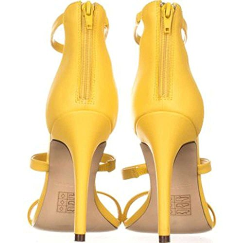 Call It Spring Women's Astoelian Dress Sandal Light Yellow YOFUZijYXY