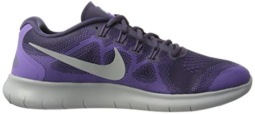 Pure Free Chaussures WMNS de Violet Raisin Platinum Running Earth RN 2017 Femme Dark NIKE Purple qPdxC5C