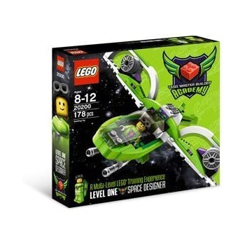 Amazon.com: LEGO Master Builder Academy Kit 1 Space Designer MBA ...