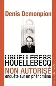 Houellebecq non autorisé. Enquête sur un phénomène par Denis Demonpion