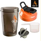 AS-IT-IS Nutrition Protein Shaker Bottle with Scoop (30g) and Mixer Ball