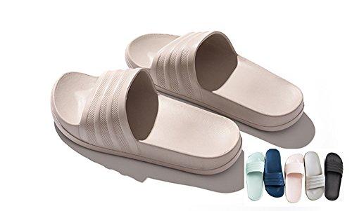 Women Gray Slippers Swimming Men Summer Sandals Asifn Non Bedroom Indoor Home Shower Slip Ot7EEwq
