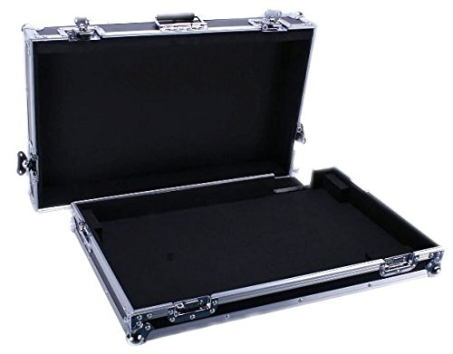 (Durable Mixer Flight Road Case For Mackie Cfx20 Pro Mixer Made From Materials With Outstanding Reliability And All-around Protection For Your Equipment DEEJAY LED TBHCFX20)