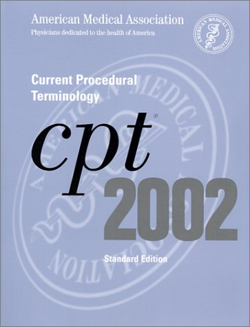 Current Procedural Terminology: CPT 2002 (Standard Edition, Thumb Index)