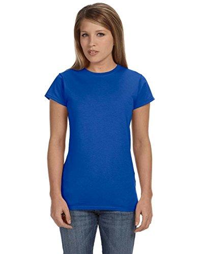 Gildan G640L Ladies 4.5 oz SoftStyle Ringspun T-Shirt - Royal - 3XL ()