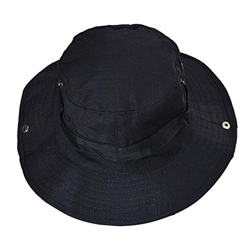 TOTOD Bucket Hat Boonie Hunting Fishing Outdoor Wide Cap Brim Military Unisex Couple]()