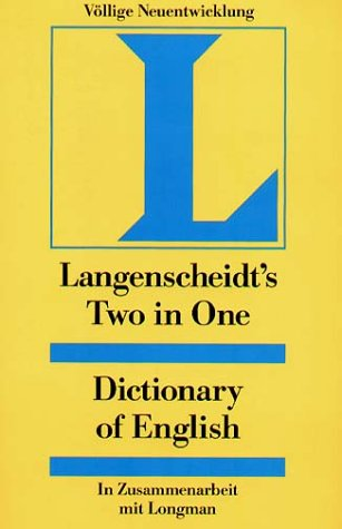 Langenscheidt Two in One Dictionary of English