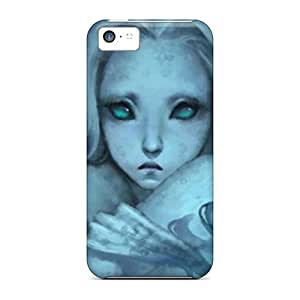 Sanp On Cases Covers Protector For Iphone 5c (white Fantasy)