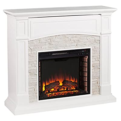 Southern Enterprises Seneca Electric Media Fireplace