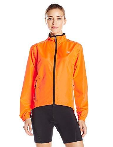 CANARI Women's Radiant Elite Jacket, Solar Orange, Small