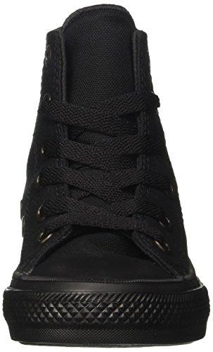 Converse Chuck Taylor Tout Étoiles Paillettes High Top Sneakers Noir / Noir / Noir