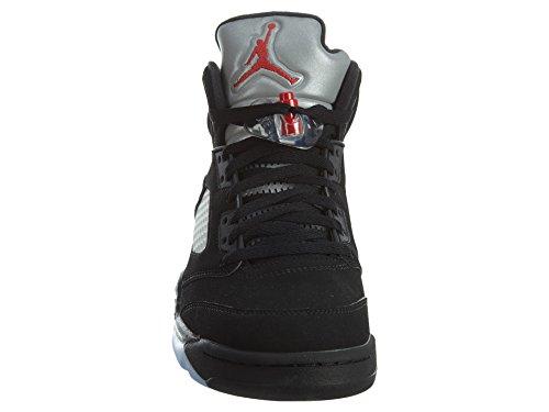 Nike 845035-003 - Zapatillas de deporte Hombre Varios colores (Black / Fire Red-Metallic Silver-White)