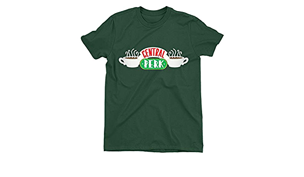 Friends Central Perk Logo Children/'s Unisex Green T-Shirt