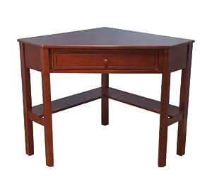 Amazon Com Target Marketing Systems Wood Corner Desk With