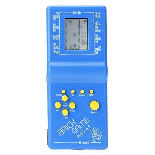 Kids Mini Console Retro Tetris Game Handheld Arcade Electronic LCD Toys Childhood Brick Game by Balai