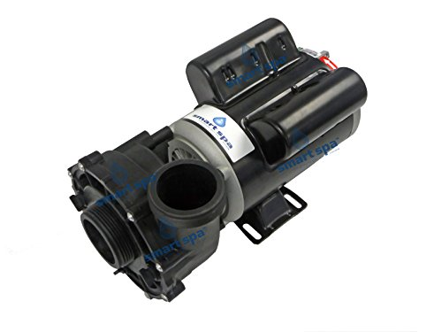 Waterway Hot Tub Parts - Smart Spa Universal replacement spa hot tub pump - 1.0 HP 1.5 HP 48 Frame 2 Speed - 10.3/3.8 amps 115V - Also replaces many Aquaflo Gecko XP2 and Waterway EX2 models