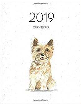 2019 Cairn Terrier Dated Weekly Planner With To Do Notes Dog