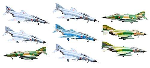 プラッツ 1/144 ハイスペックシリーズ vol.2 航空自衛隊 F-4 ファントムII (10個入) プラモデル