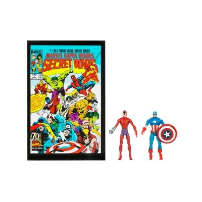 Marvel 25th Anniversary Comic 2pk - Captain America & Klaw