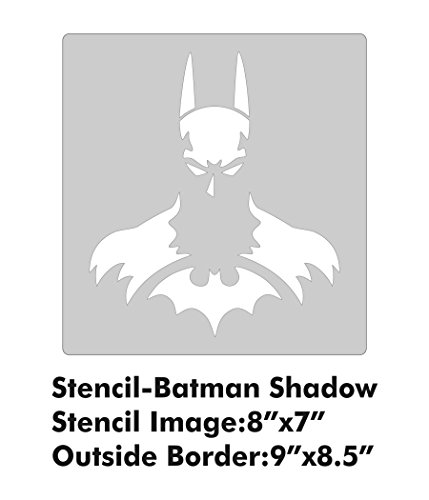 XL Stencil - Batman Shadow -