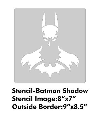 XL Stencil - Batman Shadow]()