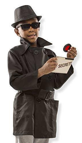Melissa & Doug Spy Role Play Costume Set (Play Costumes)