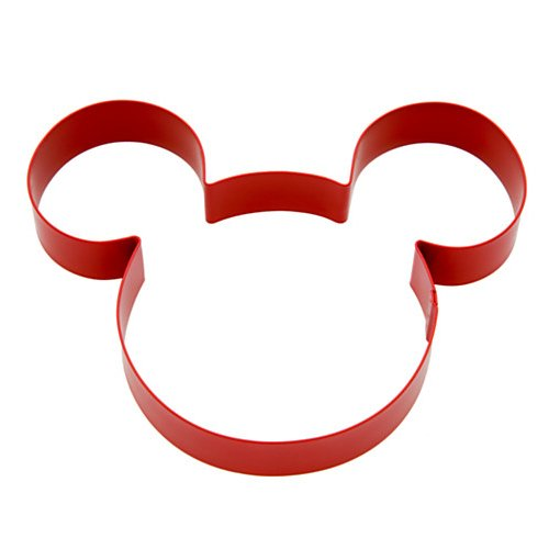 Disney Parks Exclusive Mickey Mouse Icon Cookie Cutter ()