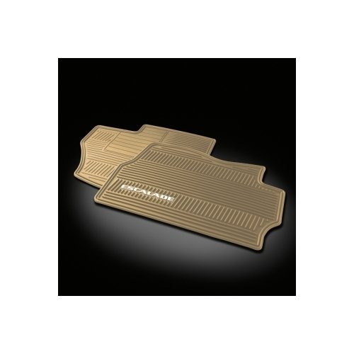 07-12 Cadillac Escalade Front Premium All Weather Floor Mats Cashmere 19166595